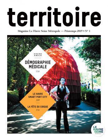 Couverture magazine Territoire n°1 - Printemps 2019