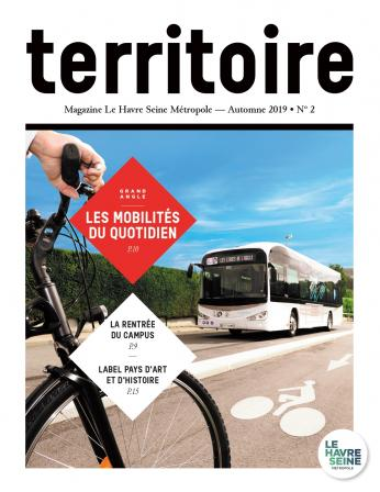 Couverture magazine Territoire n°2 - Automne 2019