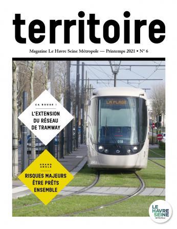 Couverture magazine Territoire n°6 - Printemps 2021