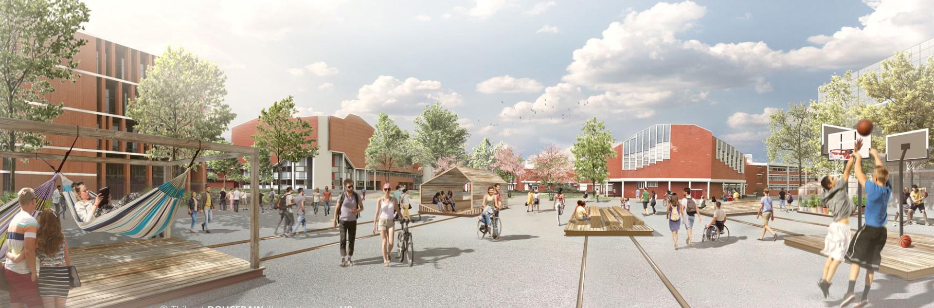 Projet d'aménagement du Site Lebon Université
