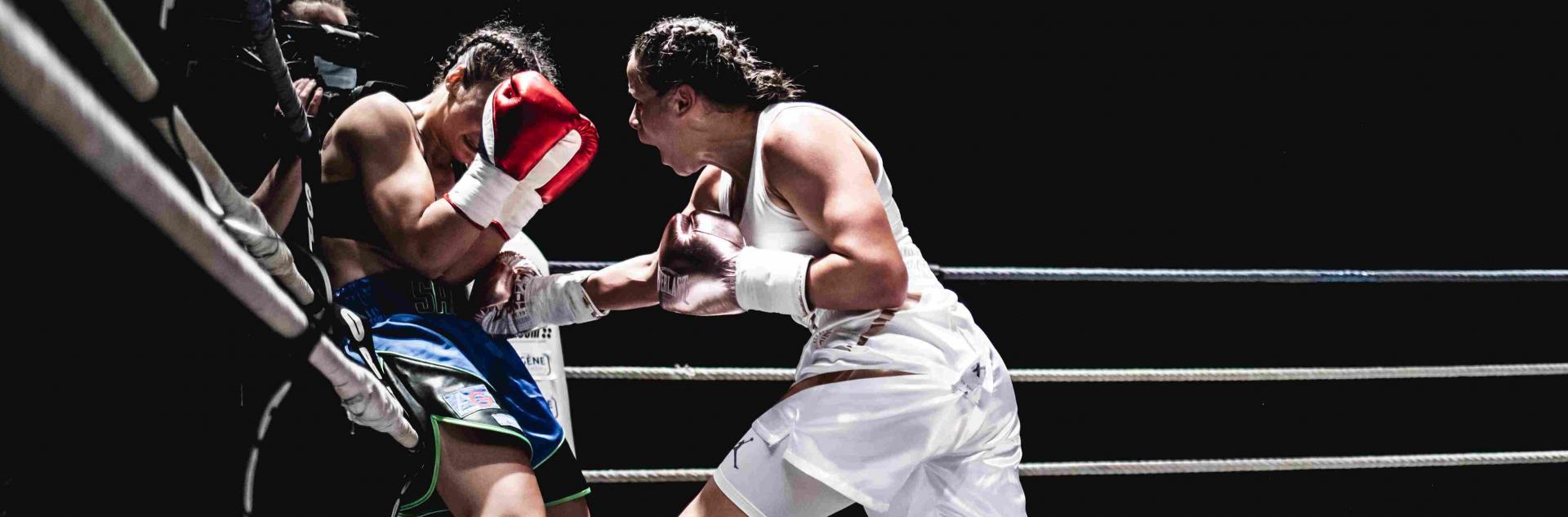 Combat d'Amina Zidani