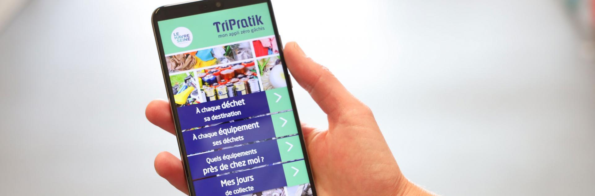 L'application TriPratik