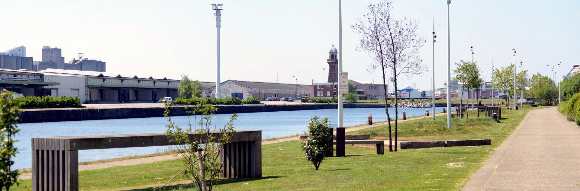 7 km à quai - LH Port Center