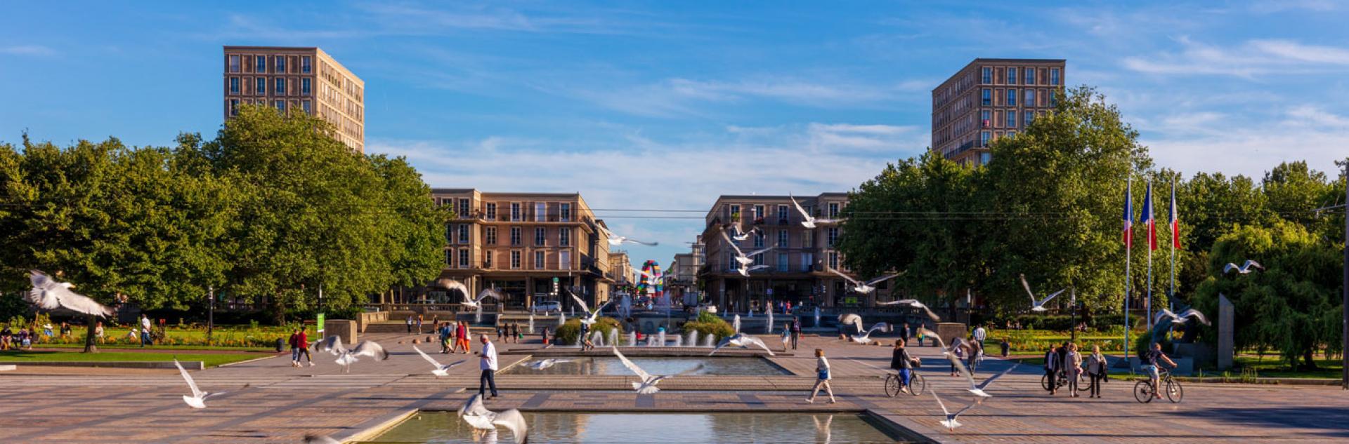 Centre-ville reconstruit, Le Havre