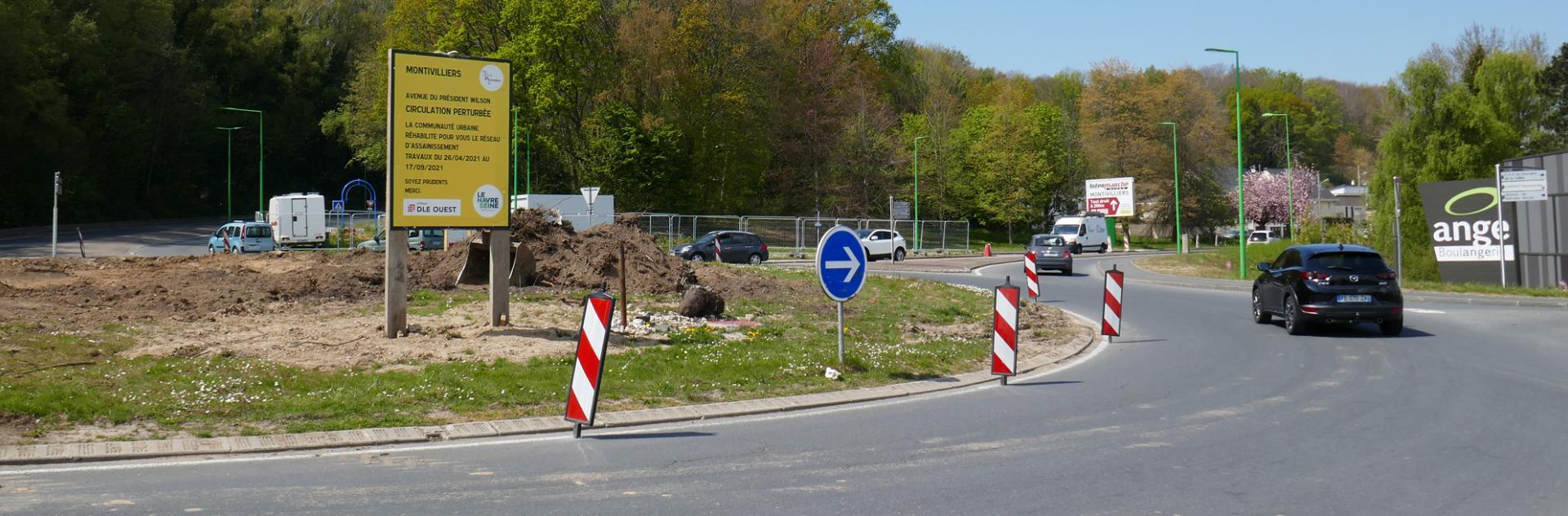 Travaux pour sécuriser le réseau d'assainissement à Montivilliers