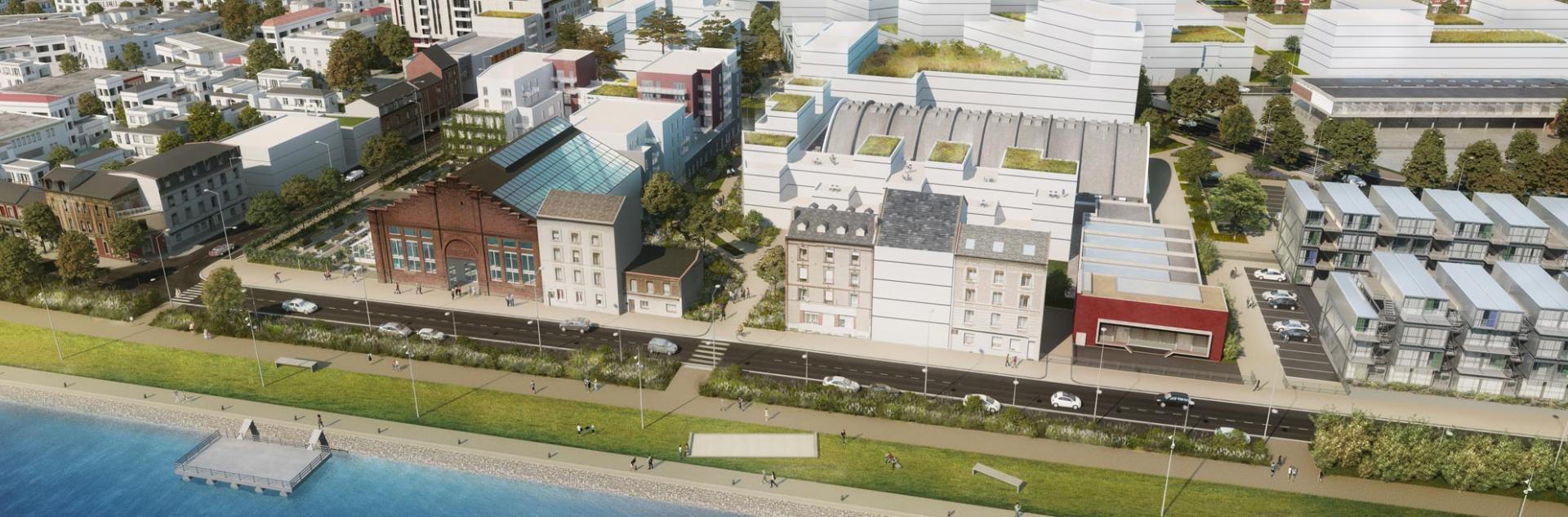 Projet de requalification du secteur Dumont d'Urville, Le Havre