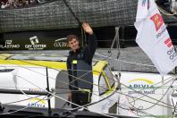 Charlie Dalin, vainqueur de la Transat Jacques Vabre 2019