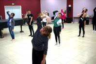 Cours de danse à l'école de musique intercommunale