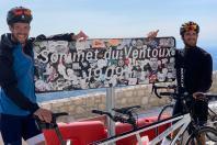 Entraînement de Jérémie Mion sur le Mont Ventoux, octobre 2020