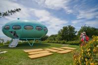 La Futuro House, oeuvre temporaire d'un été au Havre