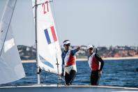 Jérémie Mion et Kévin Peponnet, mondial de 470 à Vilamoura au Portugal, mars 2021