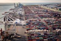 quai de la zone portuaire du Havre