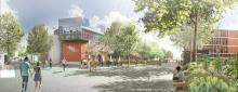 Projet d'aménagement du site Lebon Université du Havre