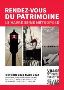 Programme des rendez-vous du patrimoine octobre 2021 à mars 2022