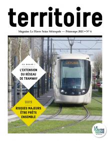 Couverture magazine Territoire n°6 - Printemps 2021