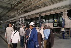 Centre de maintenance du tramway, Octeville-sur-mer
