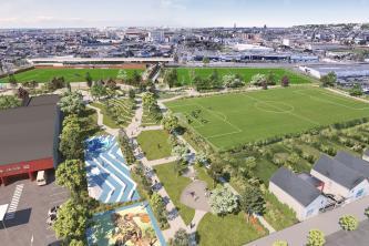 Un nouveau parc sportif paysager dans les Quartiers Sud du Havre