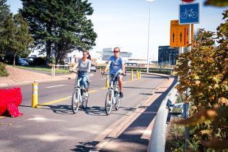 Piste cyclable, Le Havre