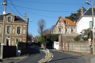 Route à Sainte-Adresse