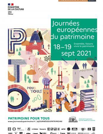 Programme des Journées européennes du patrimoine 2021