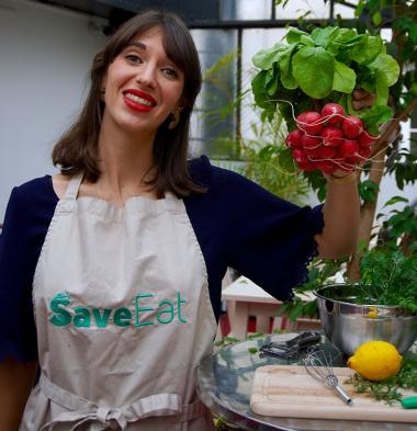 Dorothée Bessière, co-fondatrice de l'application Save Eat
