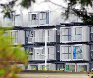 Cité A'Docks, logements étudiants en conteneurs au Havre