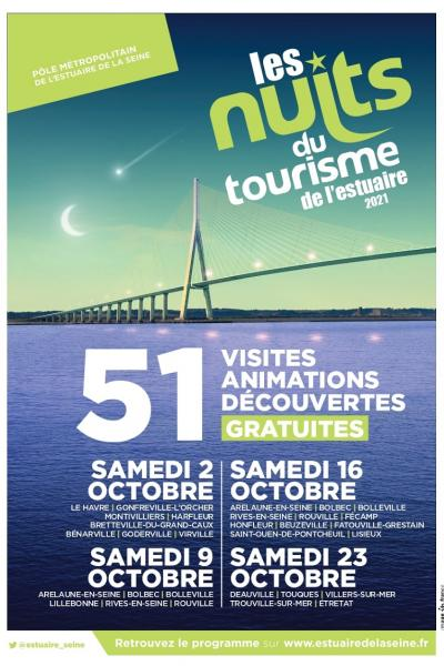 Nuits du Tourisme de l'Estuaire 2021