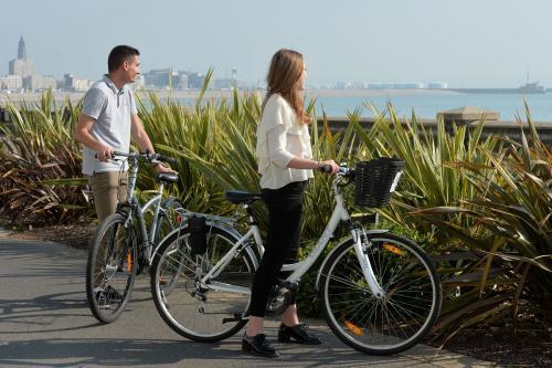 Cyclistes, Le Havre