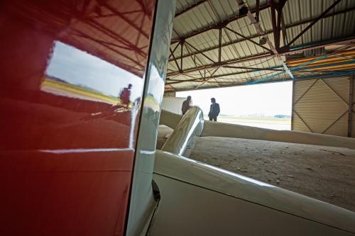 Garage à avion Aérodrome Saint Romain de Colbosc