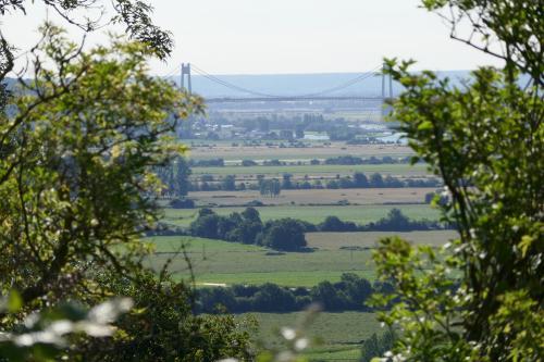 Belvédère avec vue sur le Pont de Tancarville