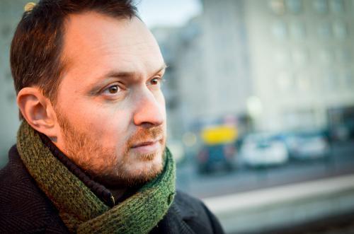 Frédéric Forte, responsable du Master Création Littéraire de l'ESADHaR