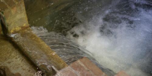 eau qui coule